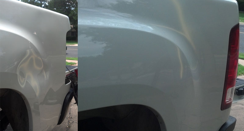 On-Site Dent Repair – Before and After